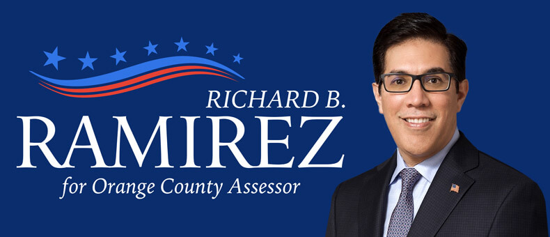 Richard B Ramirez - Candidate for Orange County Assessor